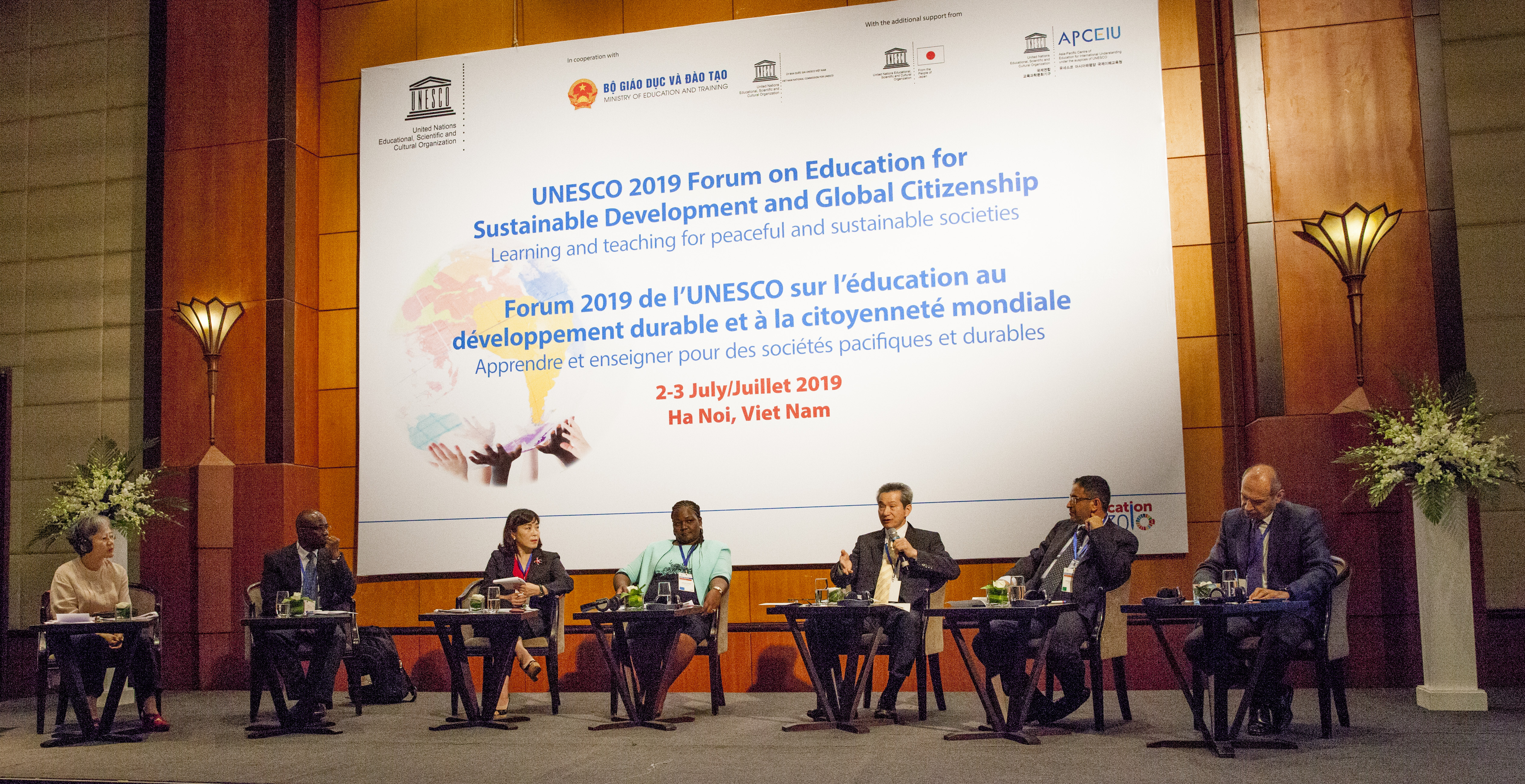 UNESCO Forum on ESD and GCE & 2019 GAP Partner Network Meeting | RCE