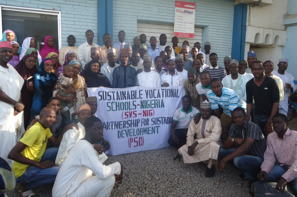 Members of the Sustainable Vocational Schools-Nigeria